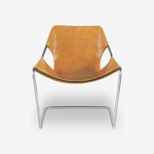 Paulistano chair - Whisky leather cover