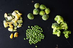 如何使用冷冻蔬菜