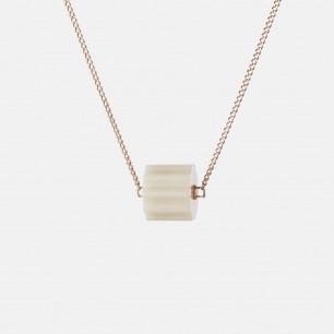 罡风项链(WYF(YS)-1) | 925银+罗甸玉 独特设计