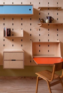 Plywood for the modern home