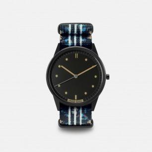 潮流男款手表 01NATO系列Sprite | 多彩印花图案 表盘38mm