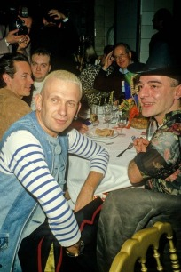 Jean Paul Gaultier & John Galliano - Les Bains Douches, Paris in the 90's by Foc Kan