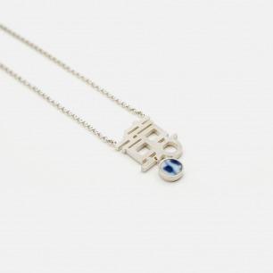 囍字项链 | 精致典雅的青花古瓷饰品