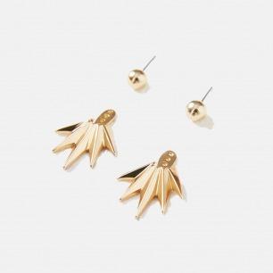 扇子组合耳环 | DIY你爱的造型