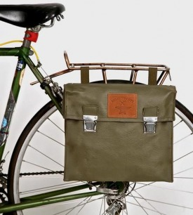 Vintage Vinyl Bicycle Pannier