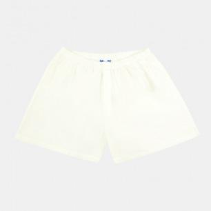 内裤家居短裤-白色 | 有态度的时髦人士都爱