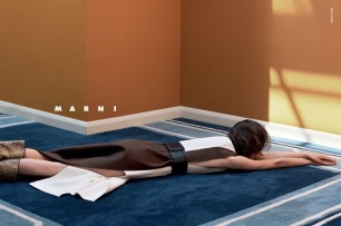 Marni Goes Unconventional for its First Campaign