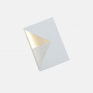 几何拼图笔记本 蓝+金  三角   英式简约风格设计
