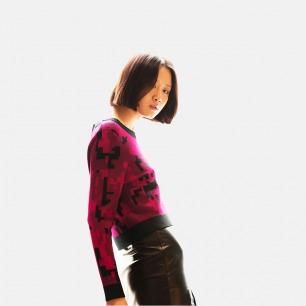 中国迷彩毛衣女款