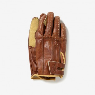 Oiled Leather Glove with Micro Fleece  皮手套