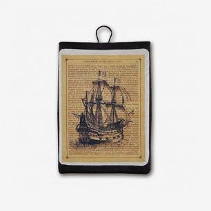 SilverLining独立设计Mini ipad毛毡收纳包保护套-帆船