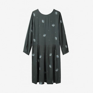 Girl by Band of Outsiders / Jewel Print Dress | La Garçonne