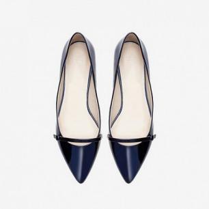 系扣尖头包鞋 - 鞋 - 女士 | ZARA 中国