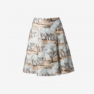 Marni Tree Print Skirt - Dante 5 Women - Farfetch.com