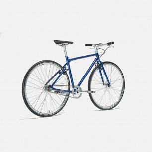 自动变速的城市骑行自行车 天际蓝 | 黑科技骑行 内置蓝牙传感器