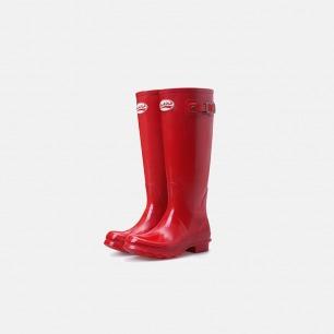 明星都爱的高筒雨靴    天然环保橡胶 纯手工制造