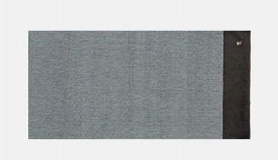 手工织造棉麻茶席 烟灰色 | 质朴简约设计 回归朴素情怀