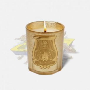 香氛蜡烛 皮革与烟草香型 | 法国皇室御用 金色特别版