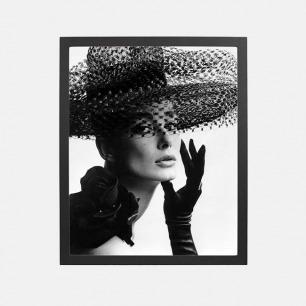 经典摄影装饰画 妮娅·玛蕾 | 由约翰•弗伦奇摄于1963年