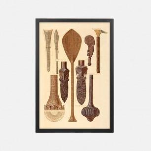 艺术装饰画 古器插图(三) | Owen Jones设计的石版画