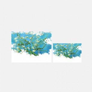 创意3D观看卡+书签 杏花   荷兰趣味设计 3D观看名作