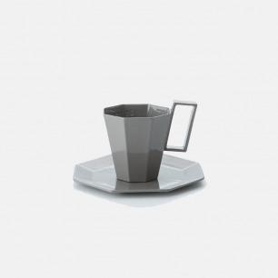 日本简约马克杯&杯垫套组 | 几何形状 打造家居艺术感