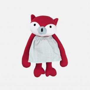 有机棉卡通动物玩偶 | 原汁原味的丹麦设计