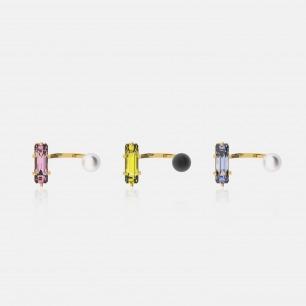 时尚异形锆石珍珠戒指   Ruby Wonder系列首饰