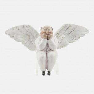 节庆男天使-艺术雕塑  | 艺术家瞿广慈雕塑作品
