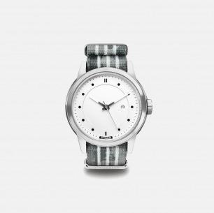 条纹风时尚手表 Asphalt | 玩酷街头的简约潮表44mm