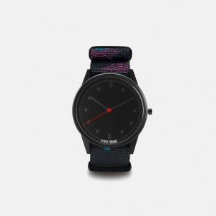 紫黑个性时尚手表Oasis | 玩酷街头的简约潮表38mm