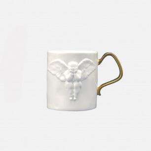 浮雕天使骨瓷杯 镀金手柄 | 精工限量手作 匠心独具
