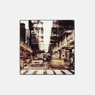 拼贴城市-水晶艺术版画 | 水晶分隔空气 画面恒久稳定