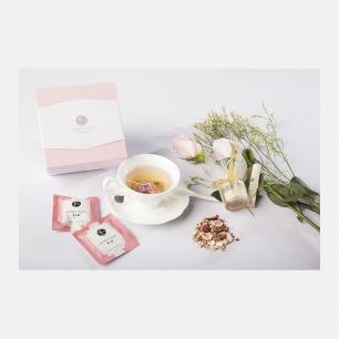 玫瑰白芷养生茶礼盒 | 含养生茶饮/永生花/润唇膏