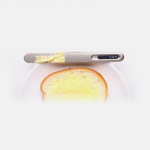 银色经典款手温热能传导奶油刀