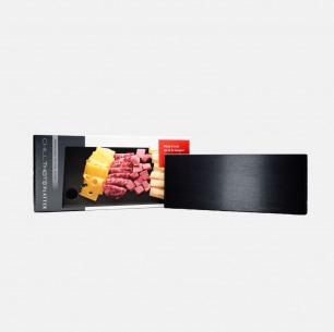 延长食品冷藏时间的黑色保冷盘