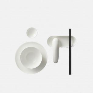 黑川雅之设计高白瓷餐具套装【ZK福碗】