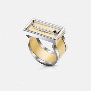 情书声波 男款银锆石戒指 | 支持声音定制 对ta传情