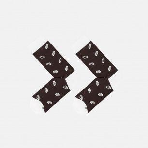 棕色话梅糖款 全棉长款男袜 | 为有趣的人做有趣的袜子