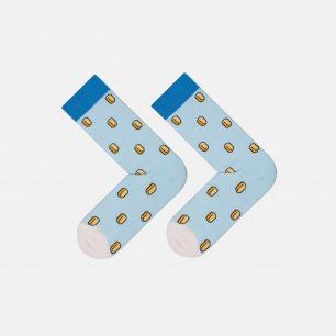 蓝金马里奥款 全棉长款男袜 | 为有趣的人做有趣的袜子