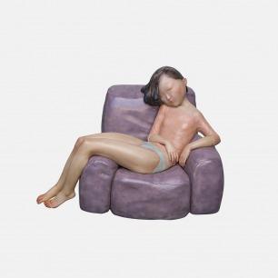 艺术家向京雕塑-好时光 | 灵感来自一个慵懒的午后片段