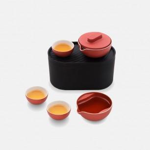 便携茶具套装 红点特别款 | 一壶三杯一茶海 轻巧便携
