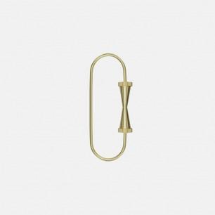 黄铜齿轮系列钥匙环 | 坚固黄铜打造 灵感齿轮设计