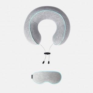 花卷旅行颈枕 多色可选 | 记忆棉内胆 缓解颈部压力