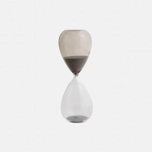时间沙漏摆件(大) | 水晶玻璃质感 两色可选