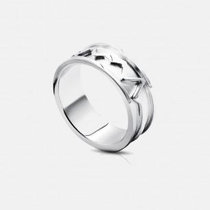 声誓定制波纹 男款戒指 | 张扬的造型 就像热恋中的人