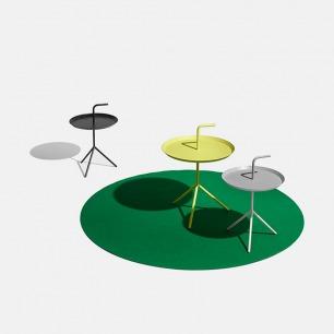 北欧简约金属茶几边桌  | 跟着你自由移动的多色茶几