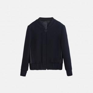 独立设计师品牌 MA-1针织羊毛夹克(两色可选)