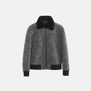 独立设计师品牌 杂纱夹克(两色可选)