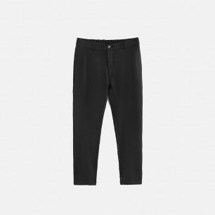 独立设计师品牌 松紧腰锥形小脚裤(两色可选)